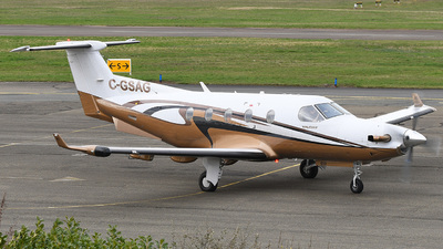 C-GSAG - Pilatus PC-12/45 - Private