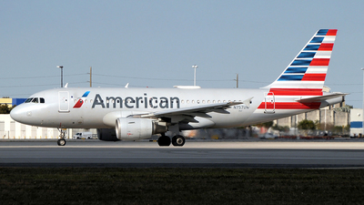 N757UW - Airbus A319-112 - American Airlines
