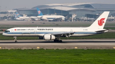 A picture of B2855 - Boeing 7572Z0(PCF) - Air China Cargo - © Unbeliverpool