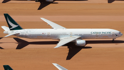 A picture of BHNK - Boeing 777367 - Cathay Pacific - © CATHAY246