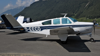A picture of DEECO - Beech V35B Bonanza - [D9229] - © Mirko Bleuer