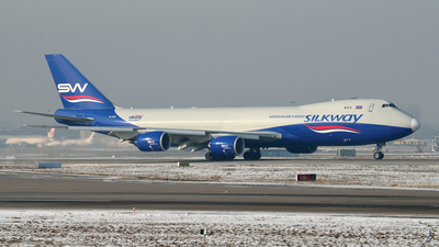 VQ-BVB - Boeing 747-83QF - Silk Way West Airlines