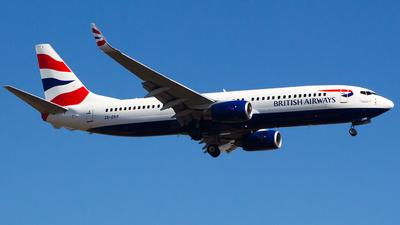 ZS-ZWW - Boeing 737-82R - British Airways (Comair)