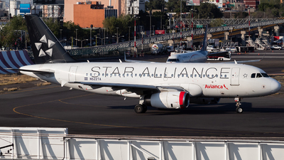 N522TA - Airbus A319-132 - Avianca Central America