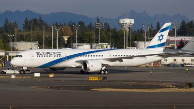 4X-EDB - Boeing 787-9 Dreamliner - El Al Israel Airlines