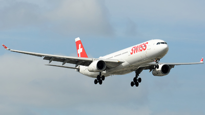 A picture of HBJHL - Airbus A330343 - Swiss - © Alexander Portas