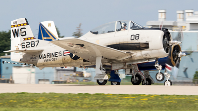 N28YM - North American T-28C Trojan - Private