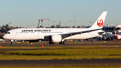 JA862J - Boeing 787-9 Dreamliner - Japan Airlines (JAL)