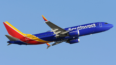 A picture of N8733M - Boeing 737 MAX 8 - Southwest Airlines - © DJ Reed - OPShots Photo Team