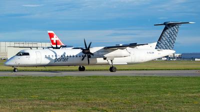 A picture of CGLQM - De Havilland Canada Dash 8400 - Porter Airlines - © RZ