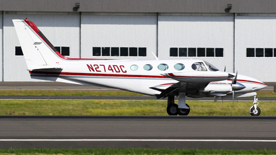 N274DC - Cessna 340A - Private
