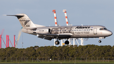 VH-QQW - Fokker 70 - Alliance Airlines