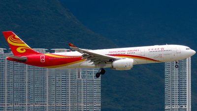 A picture of BLNS - Airbus A330343 - Hong Kong Airlines - © Jayden Fu