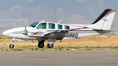 A picture of N6686D - Beech 58 Baron - [TH1097] - © HA-KLS