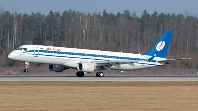 A picture of EW399PO - Embraer E195LR - Belavia - © Dmitry Molokovich