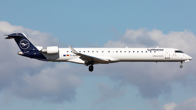 A picture of DACNW - Mitsubishi CRJ900LR - Lufthansa - © Sierra Aviation Photography