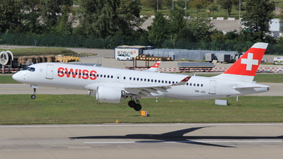 A picture of HBJCL - Airbus A220300 - Swiss - © Christoph Plank