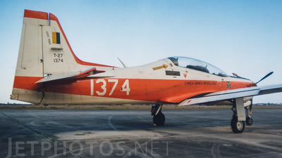 FAB1374 - Embraer T-27 Tucano - Brazil - Air Force