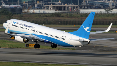 B-5389 - Boeing 737-86N - Xiamen Airlines