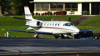 A picture of N695QS - Cessna 560XL Citation Excel - NetJets - © Agustin Anaya