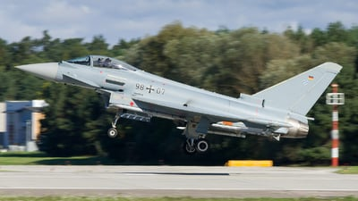 98-07 - Eurofighter Typhoon EF2000 - Germany - Air Force