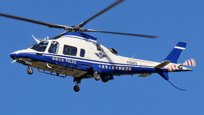 11001 - Agusta-Westland AW-109E Power Elite - China - Police