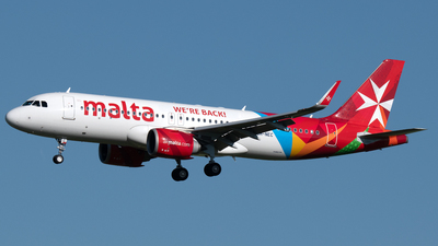 A picture of 9HNEC - Airbus A320251N - Air Malta - © PAUL LINK