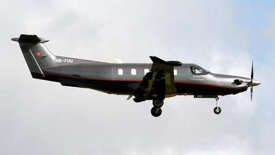 A picture of HBFUU - Pilatus PC12 NGX -  - © Javier Rodriguez - Amics de Son Sant Joan