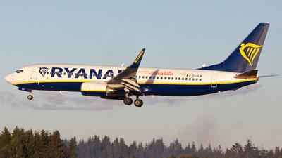 A picture of EIDLN - Boeing 7378AS - Ryanair - © Sebastian E Burmo