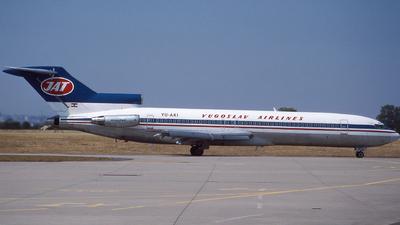 YU-AKI - Boeing 727-2H9(Adv) - JAT Yugoslav Airlines