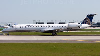 N13914 - Embraer ERJ-145LR - United Express (ExpressJet Airlines)