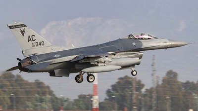 87-0340 - General Dynamics F-16C Fighting Falcon - United States - US Air Force (USAF)