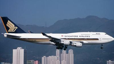 9V-SME - Boeing 747-412 - Singapore Airlines