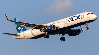 A picture of N972JT - Airbus A321231 - JetBlue Airways - © HA-KLS