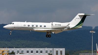 B-8316 - Gulfstream G450 - Funian Jet Aviation