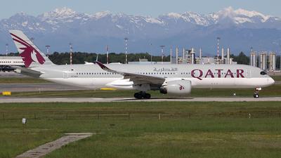 A picture of A7ALH - Airbus A350941 - Qatar Airways - © Davide Daverio