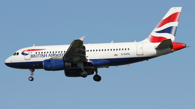 A picture of GEUPG - Airbus A319131 - British Airways - © Nigel Fenwick