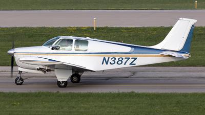 N387Z - Beechcraft 35-A33 Debonair - Private