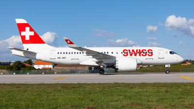 HB-JBD - Bombardier CSeries CS100  - Swiss