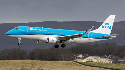 A picture of PHEXN - Embraer E175STD - KLM - © Rolf Jonsen