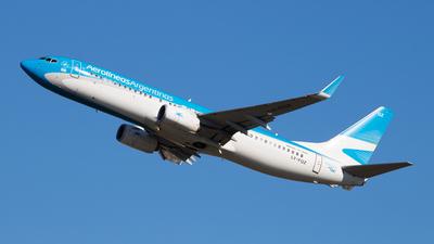 LV-FQZ - Boeing 737-8BK - Aerolíneas Argentinas