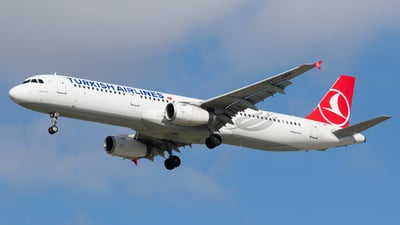 A picture of TCJMK - Airbus A321231 - Turkish Airlines - © Eyal Zarrad