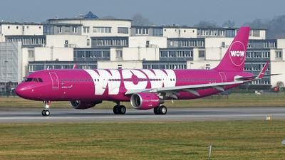TF-CAT - Airbus A321-211 - WOW Air