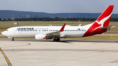 A picture of VHVXJ - Boeing 737838 - Qantas - © HillsJayden