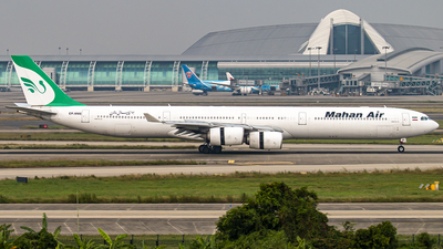 A picture of EPMME - Airbus A340642 - Mahan Air - © Bannis