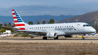 A picture of N234JW - Embraer E175LR - American Airlines - © Ricky Teteris