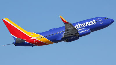 A picture of N461WN - Boeing 7377H4 - Southwest Airlines - © Orlando Suarez