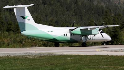 A picture of LNWII - De Havilland Canada Dash 8100 - Wideroe - © Stig Rokkones