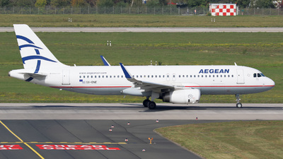 A picture of SXDNE - Airbus A320232 - Aegean Airlines - © Jan-Eike Berger