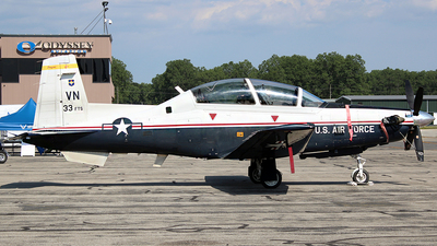 04-3733 - Raytheon T-6A Texan II - United States - US Air Force (USAF)